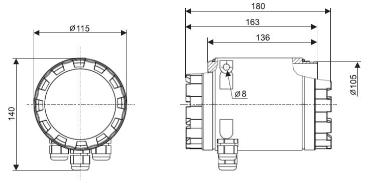 EFM-115. Чертеж контролера